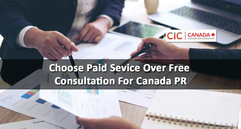 Why You Should Prefer a Paid Rather than Free Immigration Service to Immigrate to Canada